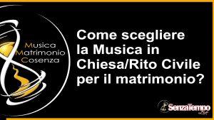 SenzaTempo Live - Band matrimonio animazione intrattenimento per Cosenza e provincia